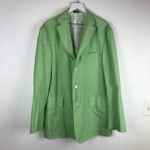 $498 Polo Ralph Lauren Blazer Sport Coat Italy XL